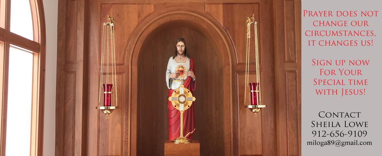 Adoration Chapel News