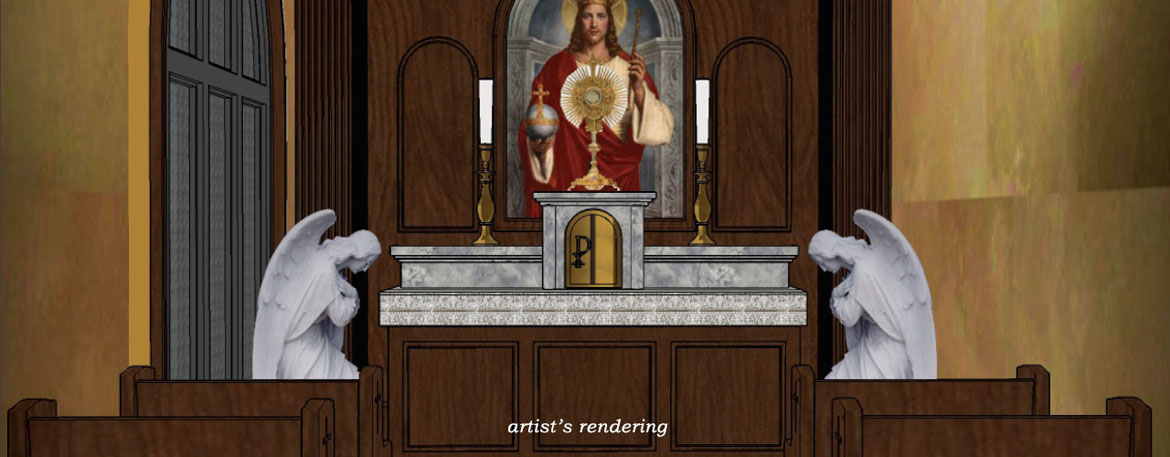 Adoration Chapel Nears Completion!