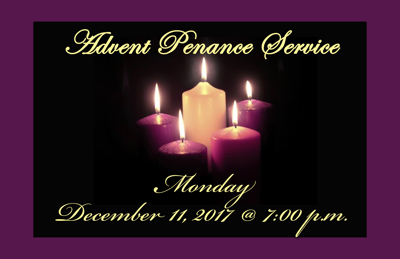 advent penance service blessed sacrament church. Black Bedroom Furniture Sets. Home Design Ideas