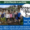 Prayer & Action Registration is OPEN!