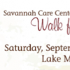 Walk for Life, Sept. 14th