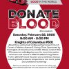 Blood Drive – THIS SATURDAY!