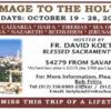 Not Too Late to Make the Holy Land Trip!  Sign Up NOW!