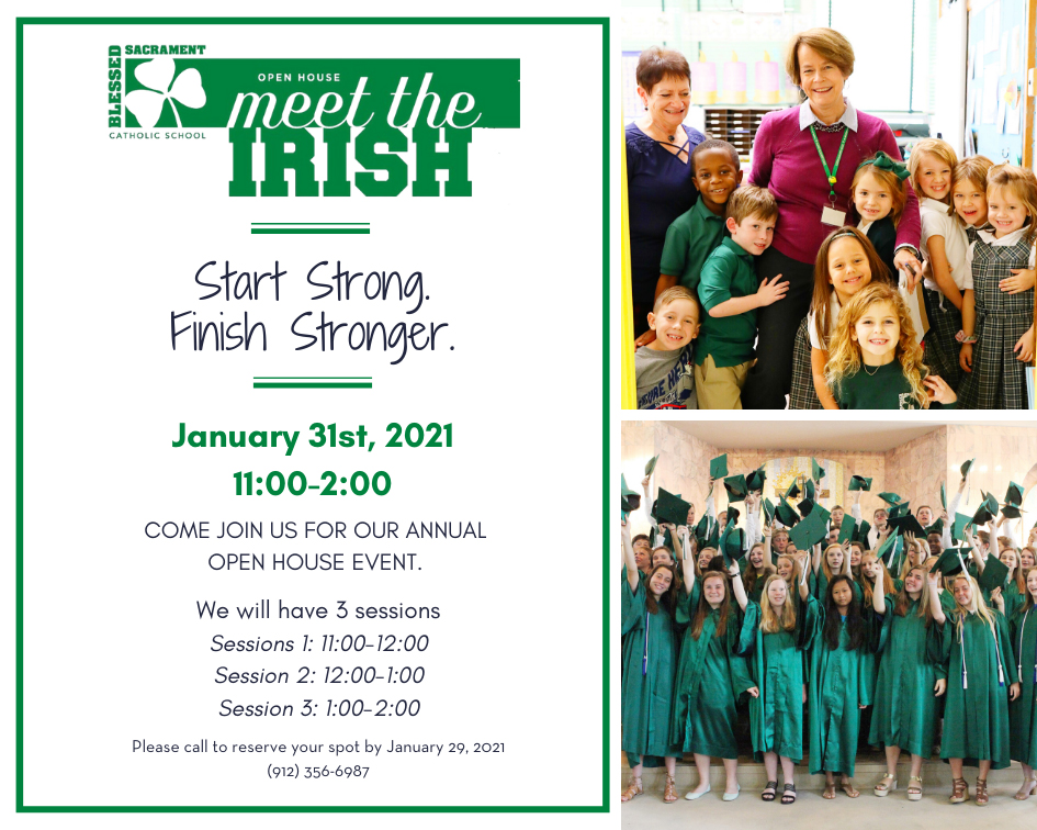 Find out why BSS is so special!   Start Strong-Finish Stronger! Join us Jan. 31st for our annual Open House event. 3 Session times available. Book now to reserve your space