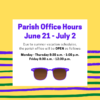 Office Hours June 21-July2